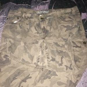 Camo Cargo Pants size 20w